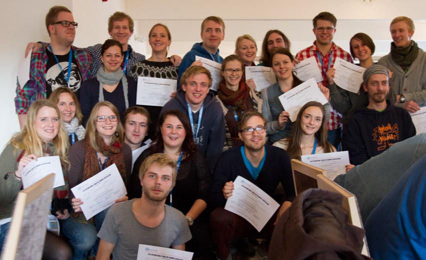 Sertifiserte fr TTT-seminaret på Høstmøtet 2012